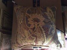 5 Galleria Brown Croscill Pillow Sham with Matching Window Valance