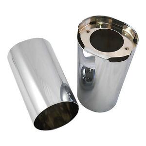 Stand Pipe Covering, Fork Cover Chrome, for Harley - Davidson FLT 14-18