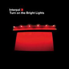 INTERPOL Turn on the Bright Lights LP Vinyl LTD ED REISSUE NEW 33RPM