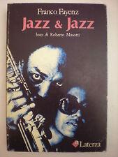 (MUSICA-PRIMA EDIZIONE) FAYENZ FRANCO: JAZZ & JAZZ