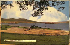Irish Postcard Lough Swilly from Rathmullan Donegal Ireland Color 1960s Dickson