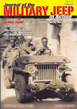 The Military Jeep in Action Book V2-1 Willys MB Ford GPW WW2 US Army Jeeps