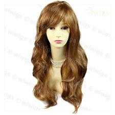 Wiwigs Long Bouncy Wavy Blonde Mix Skin Top Ladies Wig