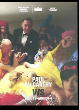 PAUL MCCARTHY - WS (White Snow) Armory NYC 2013 program catalog art show
