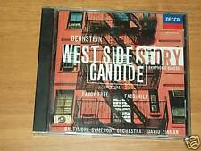 CD BERNSTEIN-WEST SIDE STORY-CANDIDE-DECCA DAVID ZINMAN