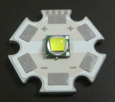 Top 10W Cree Single-Die XM-L LED T6 White 20mm Star Base, 1040Lm  3000mA for DIY