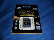 32 GB MEMORY CARD - SDHC - HIGH PERFORMANCE CLASS 10 - TEAM INTERNATIONAL