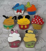 Character Cupcake Mini Booster Set Mickey and Friends Choose a Disney Pin