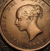 1854 NEW BRUNSWICK HALFPENNY  COIN TOKEN  Highgrade Breton 912 Canada Provincial