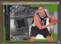 2008-09 Upper Deck MVP Game Night Souvenirs #GNBB Brent Barry Jersey