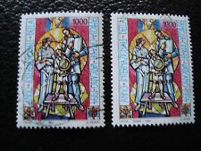 VATICAN - timbre yvert et tellier n° 982 x2 obl (A28) stamp