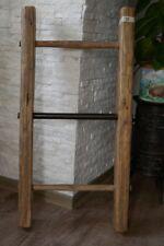 Original Alte Schöne 3-sprossige Holzleiter 96cm j4 Kleiderständer, Handtuchhalter