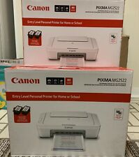 WIRED Canon PIXMA MG2522 All-in-One Color Inkjet Printer No INK  🖨USB / CD