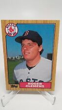 1987 Topps #340 Roger Clemens Card NM