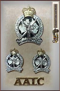 Australian Army Legal Corps 'AALC' Hat, Collar Badges plus Shoulder Title