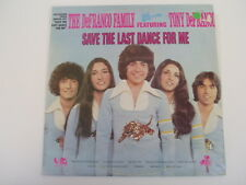 DEFRANCO FAMILY - SAVE THE LAST DANCE FOR ME - LP
