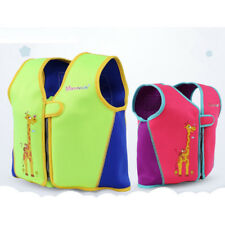 Age 4-10 Years Kids Life Vest Pink Green Buoyancy Clothing Snorkeling Vest