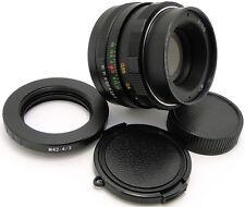 1976! HELIOS 44m 2/58 Russian Lens Olympus OM 4/3 Mount E520 E600 E620 E30 E3 E5