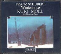 Franz Schubert Wintereise CD NEW Kurt Moll Cord Garben