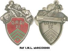 33° Groupe Reconnaissance de Division d'Infanterie, vert clair, Déposé (7067)