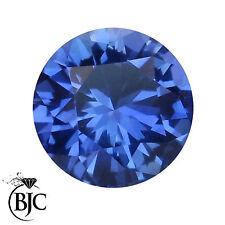 Round Translucent Loose Sapphires
