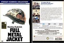 FULL METAL JACKET - DVD USATO, PRIMA EDIZIONE SNAPPER, PERFETTO, RARO!