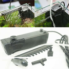 Rain Bar Unit filter Pump for fish tank Outflow Pipe hose bio Spray pond Oxygen
