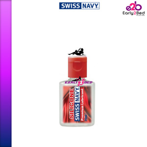 Swiss Navy Silicone Based Lubricant Lube Adult Toys Safe Sizes 10mL - 3.8L /1Gal