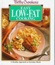 Betty Crocker's Easy Low-Fat Cooking, Betty Crocker Editors, Good Condition, Boo