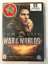 War Of The Worlds (DVD, 2005, 2-Disc Set) New and Sealed