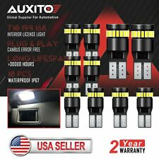 10x AUXITO super bright Canbus T10 194 168 LED light Bulb xenon white 24SMD 2825