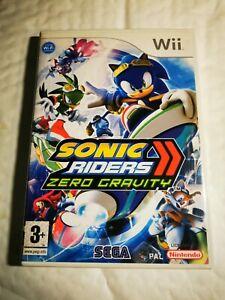 Sonic Riders Zero Gravity For Nintendo Wii