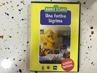 BARRIO SESAMO DVD UNA FURTIVA LAGRIMA ALEGRIAS TRISTEZAS 2003