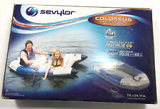 Sevylor Colossus - 2 Person Inflatable Boat Raft + Oars New