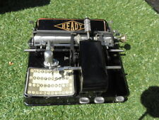 antique typewriter art deco  heady Schreibmaschine Máquina Escrever Vtg mignon