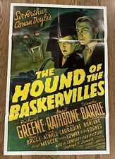 Pair Of The Hound Of The Baskervilles Movie Poster