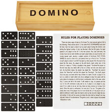 WOODEN SET DOMINOS GAME TOY XMAS CHRISTMAS STOCKING FILLER GIFT KIDS BOYS GIRLS