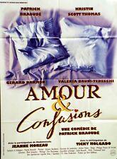 """""""AMOUR ET CONFUSIONS"""" Affiche originale (Patrick BRAOUDE, Kristin SCOTT THOMAS)"""