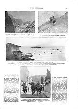 WWI Trebizond Trébizonde Erzerum Erzeroum Arménie Armenia Kop-Dagh ILLUSTRATION