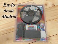 Tiras Led 5050 300Led RGB Blanco Colores Controlador Transformador 12v  3A mando