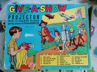 CHAD VALLEY GIVE-A-SHOW PROJECTOR DOCTOR WHO STINGRAY LASSIE POPEYE SNOW WHITE