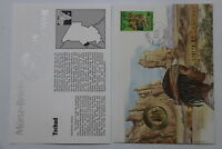 CHAD CENTRAL AFRICAN STATES 10 FRANCS 1983 COIN COVER A98 - 65
