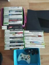 Microsoft Xbox 360 500GB Schwarz Spielekonsole,mit zwei kontrollern und spiele