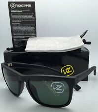 43ef914e069 New Authentic VONZIPPER Sunglasses VZ LOMAX Black Satin Frames with Grey  lenses