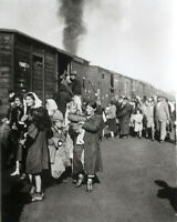 1942-  8x10 Photo Deportation of Polish Jews to Treblinka Extermination Camp