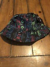 Nike Floral Bucket Hat Unisex Size L (724556 010)