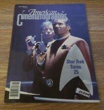 American Cinematographer January 1992 Star Trek 25th Anniversary Issue