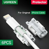 Ugreen Lightning Data Cable Saver Protector 6 Packs for Apple iPhone Charge Cord