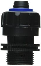 DEEP BLUE MALE CONNECTOR HOSE CONNECTS ADAPTER TO PUMP. FREE SHIPPING TO THE USA