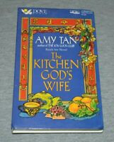 Amy Tan~The Kitchen God's Wife~Cassette Audiobook~FAST SHIPPING!!